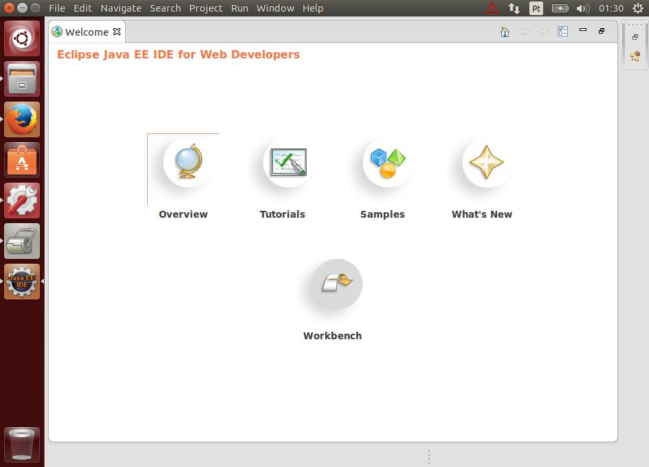 Instalando e configurando o Eclipse Kepler no linux Ubuntu